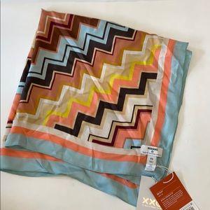 Missoni for Target silk scarf